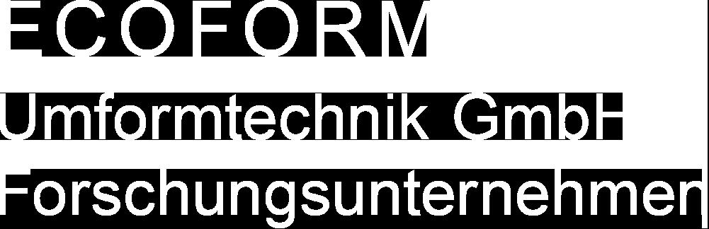 ECOFORM Umformtechnik GmbH
